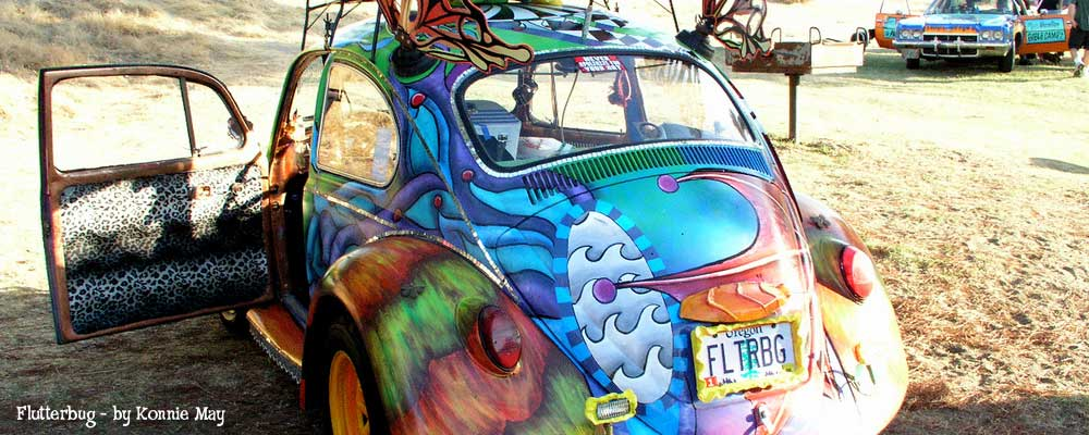 Flutterbug by Konnie May - ArtCar Fest